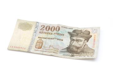 Hungarian Forint Banknote - 2000 HUF
