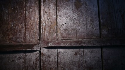 old wood plank texture night light effect background video