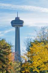 Skylon tower in Niagara Falls city