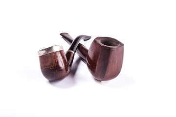 Old wooden pipes