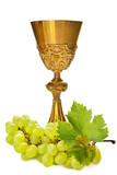 calice con uva - eucarestia - comunione
