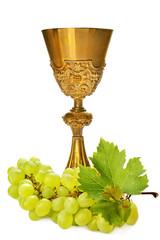 calive eucarestia comunione con uva