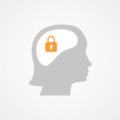 Female head and lock