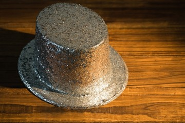 Silver party hat