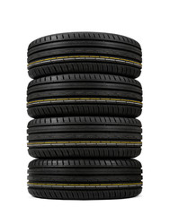 stack tires