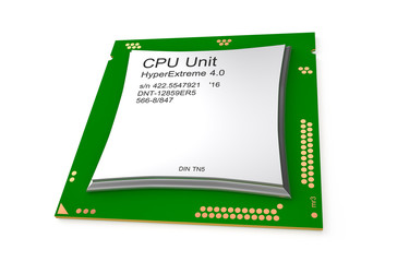 Multicore computer processor unit