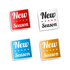 New Season Stickers