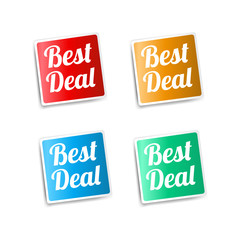 Best Deal Stickers