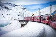 Bernina Express, railway between Italy and Switzerland - 79262403