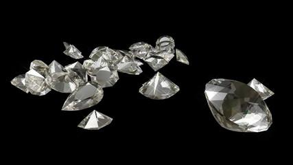 Sparkling Diamonds Animation