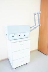 The physiotherapy apparatus in physiotherapy room