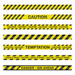 Spiritual Caution Tape Illustration - 79265037