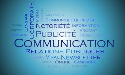 Nuage de mots - Communication