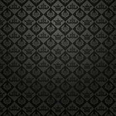 black background in old style for your design