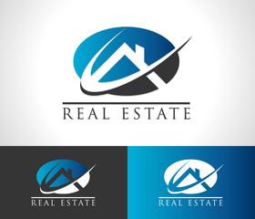 Real Estate House Logo Icon