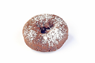 Delicious and fresh donut for breakfast