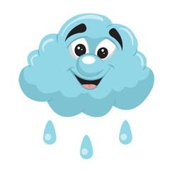 rain cloud cartoon