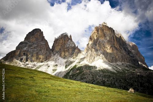 Italian Alps during Summer © offfstock