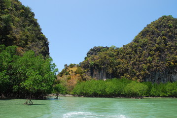 island and nature in Thailand