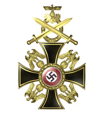 Nazi German Cross 3 (3D)