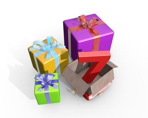 Pakjes voor je zevende verjaardag