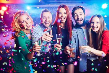 Celebration joy