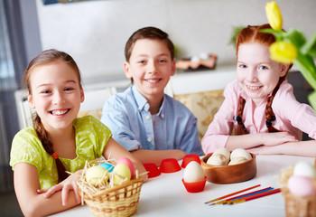 Children at Easter