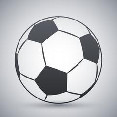 Vector football icon