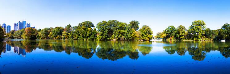 Piedmont Lake in Atlanta