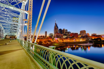 Nashvillle Skyline, Tennessee, USA