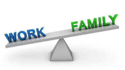 Unbalanced work and family
