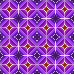 Seamless retro brown and purple background pattern