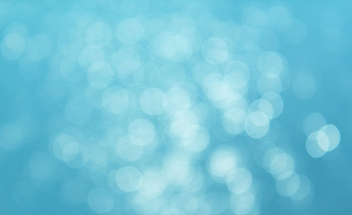 Sea bokeh background