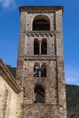 Romanesque bell tower of Beget