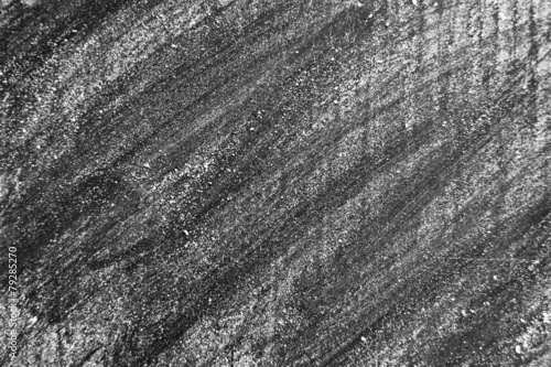 White chalk on a blackboard texture or background - 79285270
