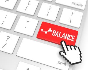 Balance Enter Key