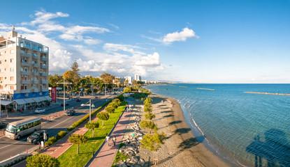 Panoramic view of Limassol city.