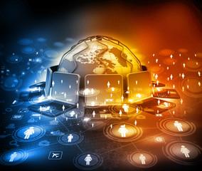 Digital design of Global communication technology .