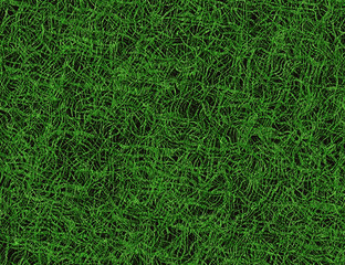 bright curled lush green grass texture