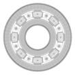steel ball roller bearings