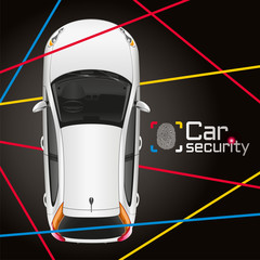 Car Laser Security