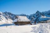 Hala Gąsienicowa w Tatrach zimą