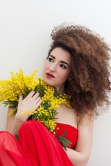 Donna mimosa