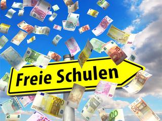Mehr Geld für freie Schulen