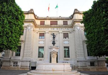 Fuente de Mercurio, Banco de España, Sevilla, España