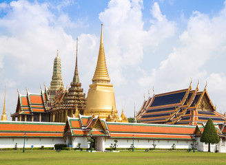 Wat Phra Kaew and the beautiful