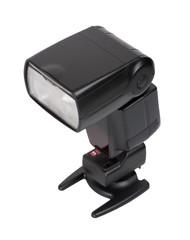 Camera flash with  synchronizer