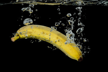 banana in water