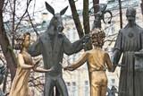 Fototapeta Скульптуры в парке.