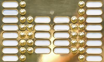 Golden buzzer table
